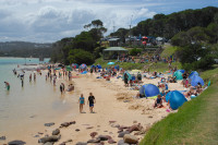 Merimbula's Bar Beach 1