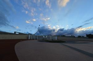 Storm over Parliament House