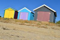 Seaside bathing Boxes
