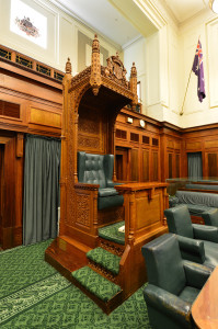 Old Parliament  House Speakers Chair