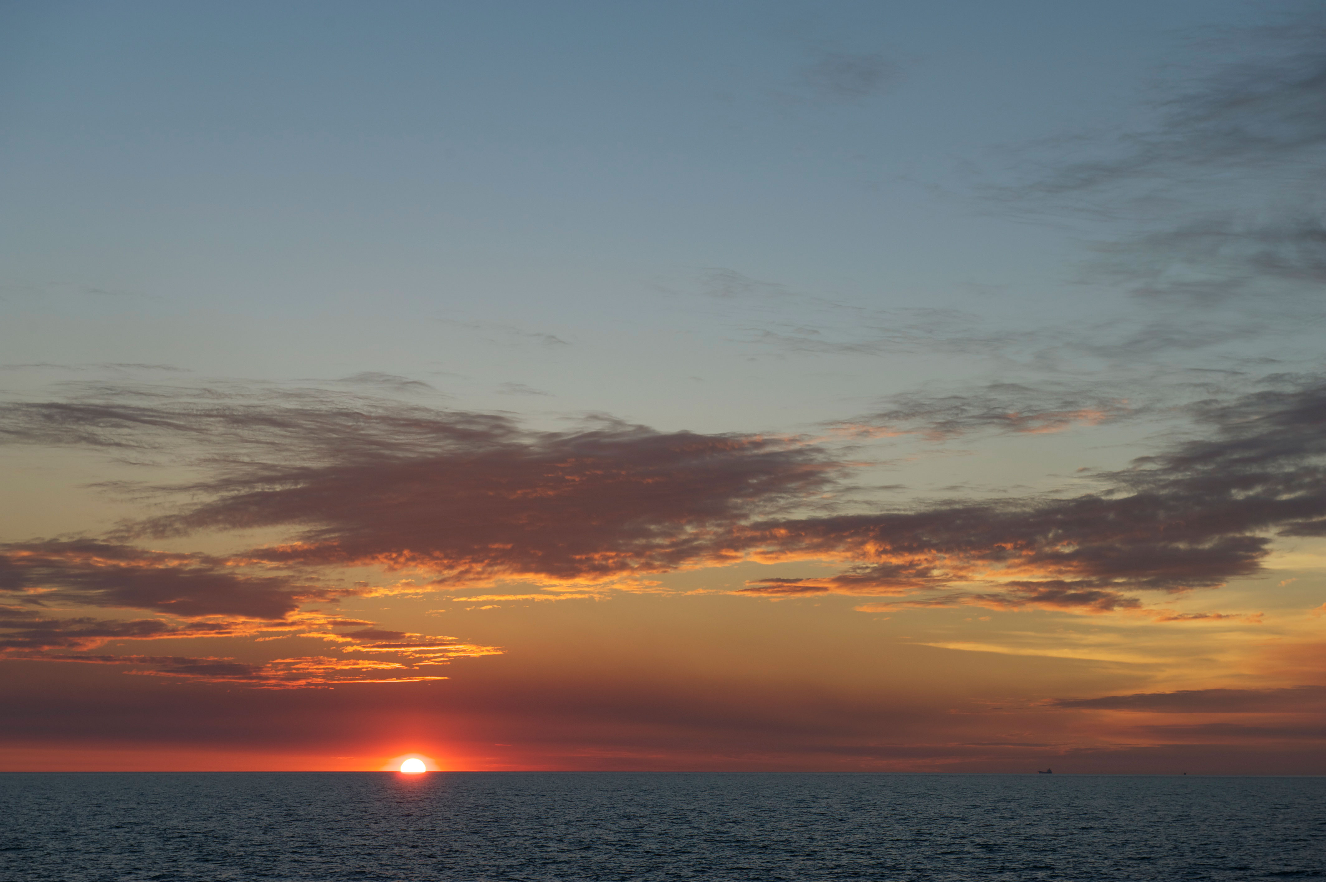 Sunset at Darwin beach