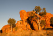 Golden light on the Devils Marbles