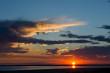 Sunset at Lake Eyre, South Australia.