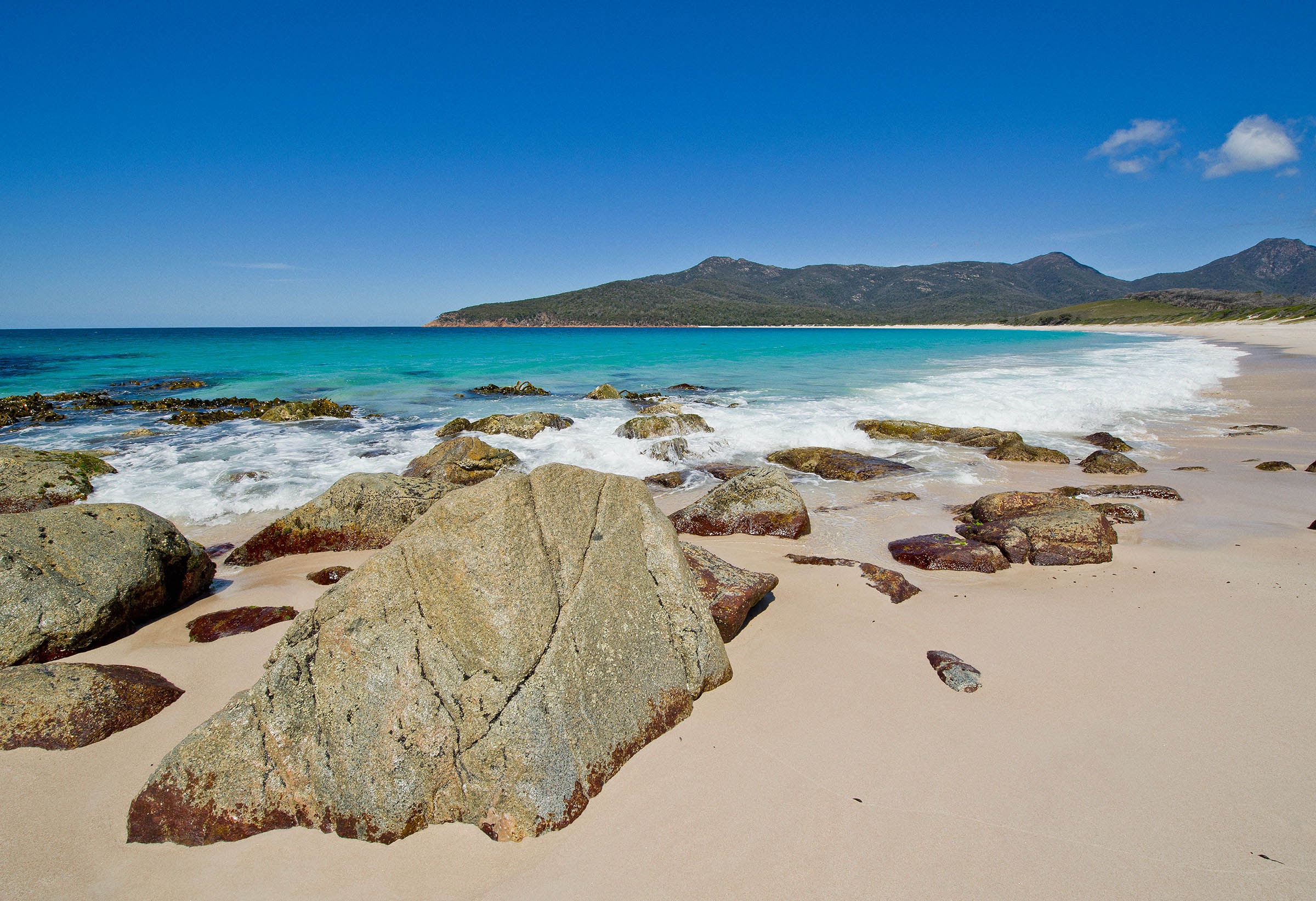Wineglass Bay Tasmania.