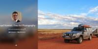 500,000 views of Google Plus site for Australian Photos by Lloyd Holwett.