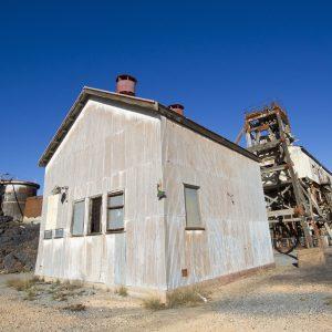 Working Building at Broken Hill